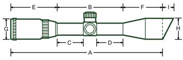 Прицел Leapers Accushot Precision Target 3-12x44